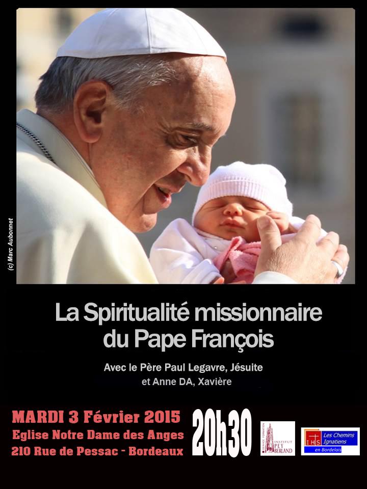 Conférence Pape Francois